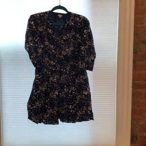 Gap Tie-Waist fall dress